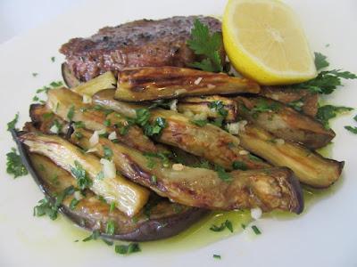 Salata - prilog od patlidžana / Eggplant salad - side dish
