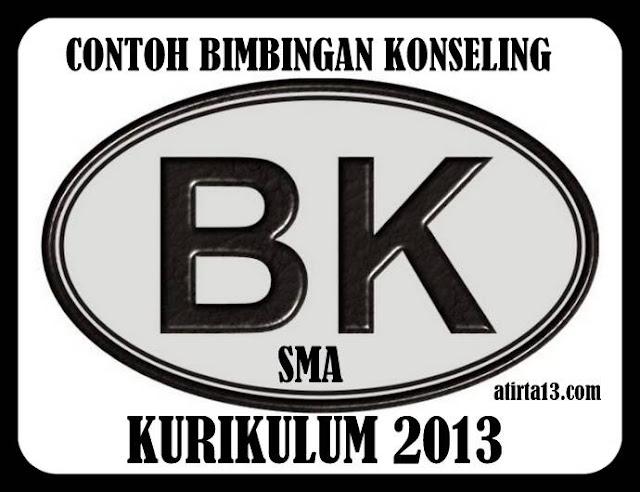 Download Contoh Program Bimbingan Konseling SMA Kurikulum 2013 Terbaru