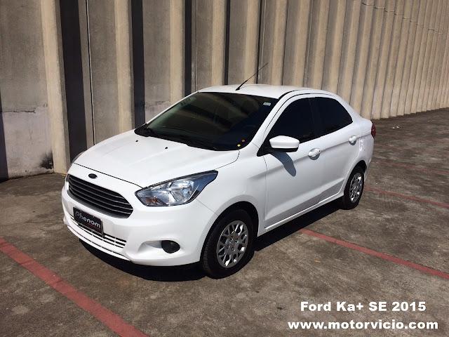 Ford Ka+ SE 2015: fotos, preço e opinião do dono
