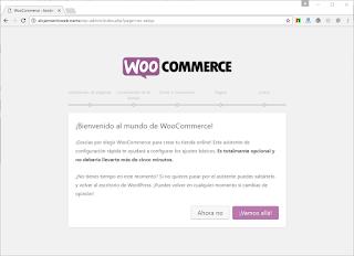 Instalar y configurar Woocommerce en Wordpress