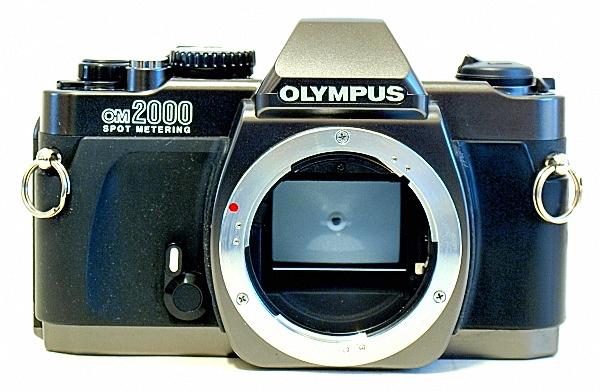Olympus OM-2000, Front