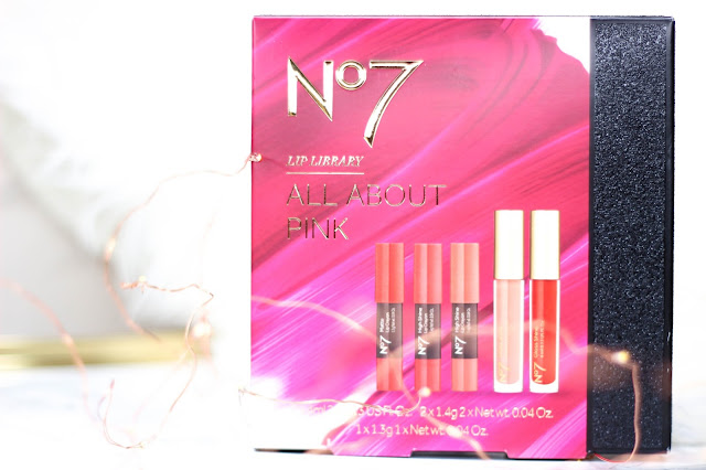 No7 Lip Library All About Pink Boots Gift Stocking Filler 1