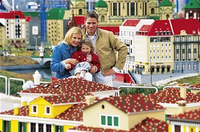 DE VIAJEROS POR: Los hoteles de Legoland 1