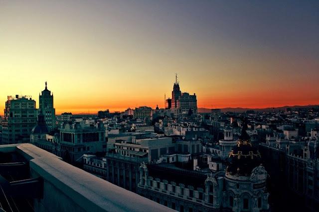 Dias longos em Madri