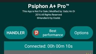 Cara Mudah Setting Psiphon a+ Dzebb Handler untuk Internet Gratis Terbaru