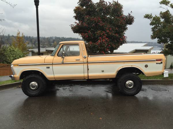 1976 Ford F250 Highboy 4x4 Truck - 4x4 Cars