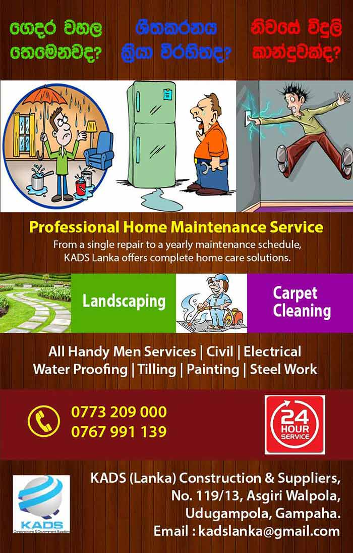 Professional home maintenance service, Landscaping, Carpet Cleaning, All handyman Services, Civil, Electrical, Water Proofing, Tiling, Painting, Steel Work.