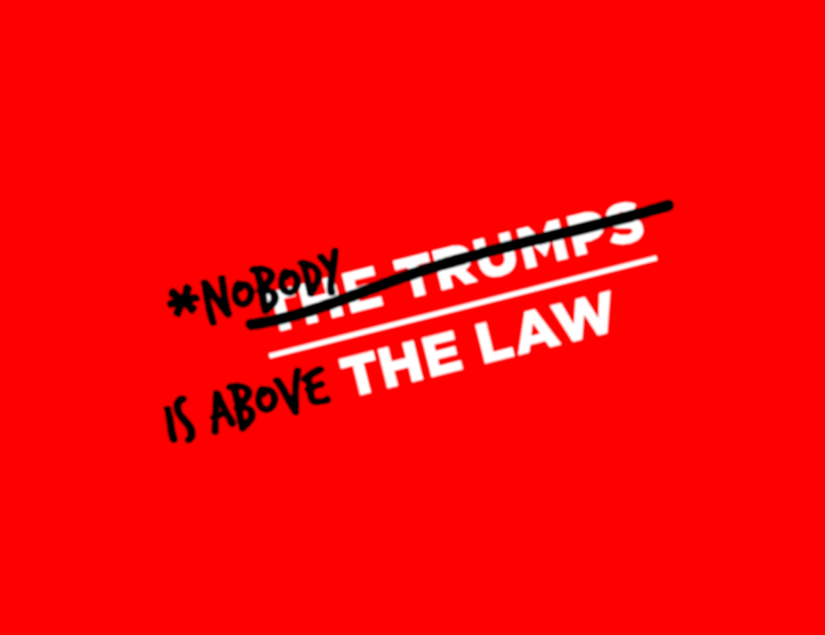 nobody is above the law trump, moveon.org red line protests