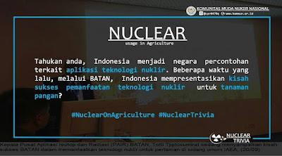 BATAN sharing kisah sukses pemanfaatan teknologi nuklir di bidang pangan