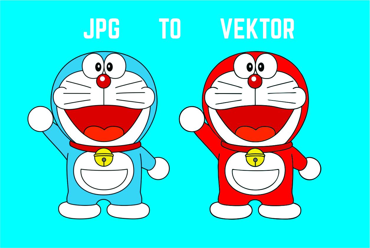 Cara Cepat Merubah Gambar JPG Menjadi Vector Rak Info