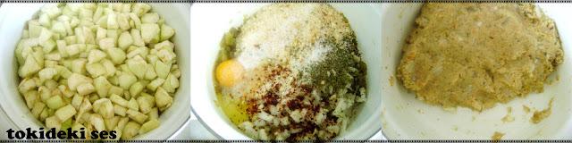 Bayat ekmekli Patlıcan Köfte Nasıl Yapılır?
