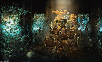 Tomb of Annihilation Skeleton Room Image