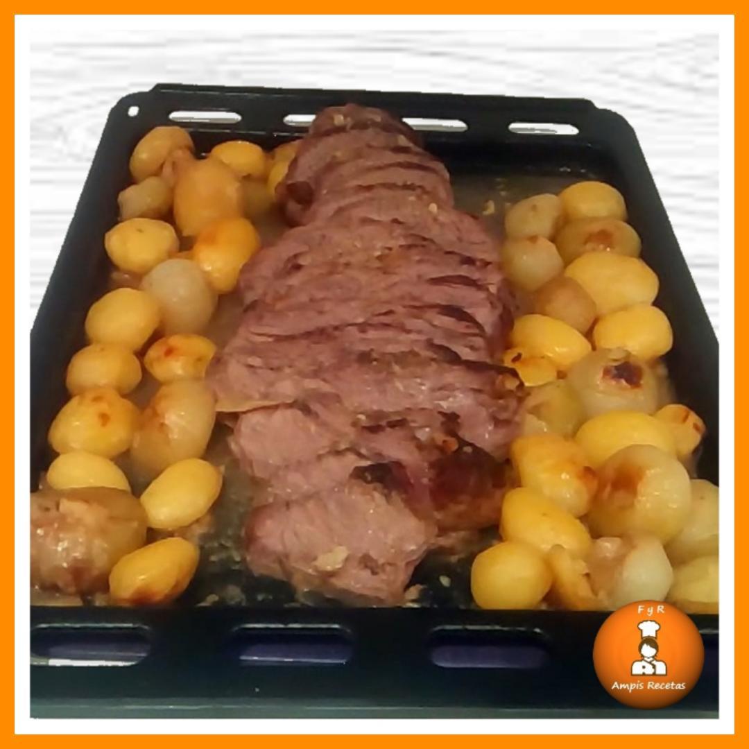 Carne asada al horno ~ Fácil y Rico Ampis Recetas