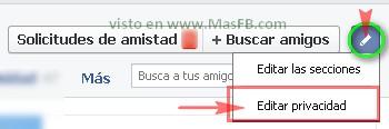 Privacidad FB 2013