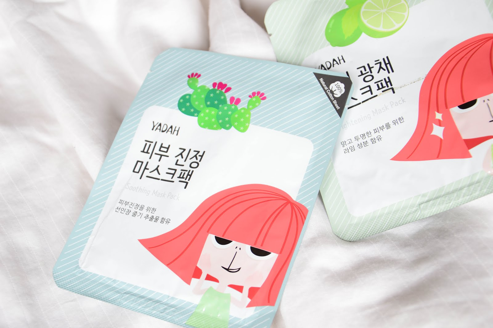 yadah soothing mask pack review