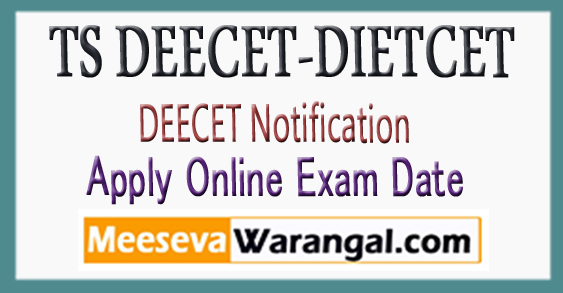TS DIETCET-Deecet Notification 2018 Online Apply Hall tickets-Results Download