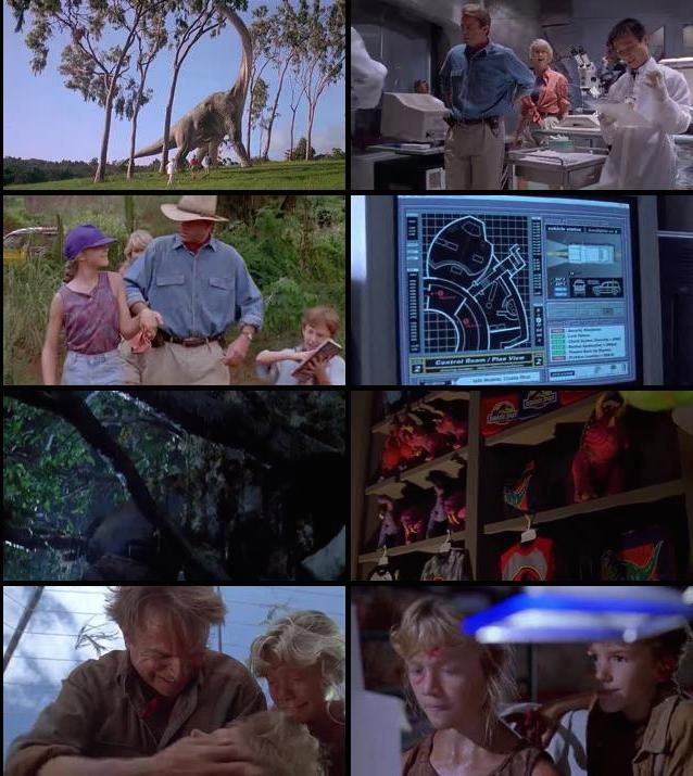 Jurassic Park 1993 Dual Audio Hindi English 480p BRRip