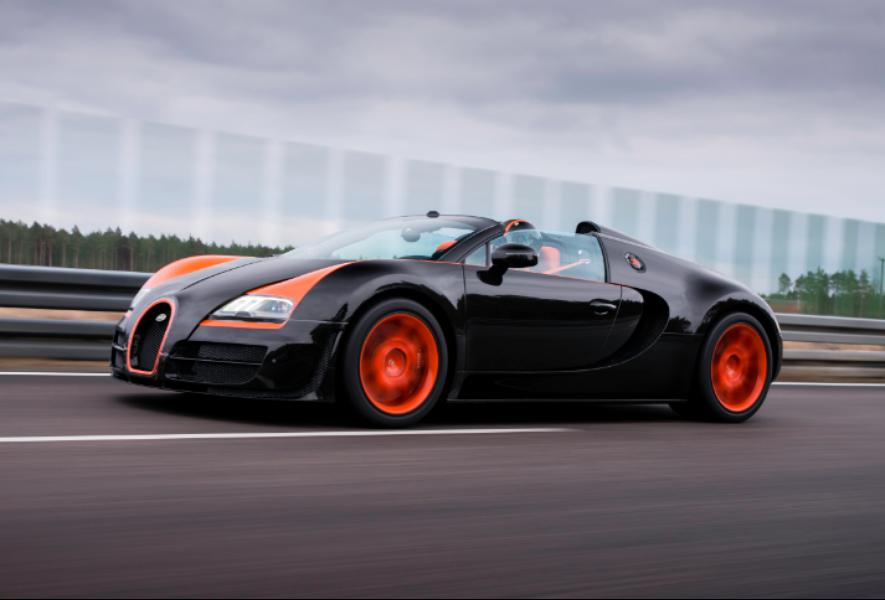 Gambar Mobil Bugatti Veyron 16.4 Grand Sport Vitesse.