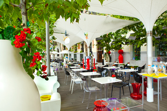 La guarida de bam restaurante ramses life food madrid for Restaurantes con terraza madrid