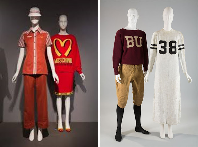 Uniform exhibit at FIT
