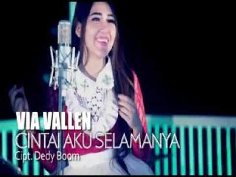 Lirik Lagu Cintai Aku Selamanya - Via Vallen dari album Nggapleki Dance chord kunci gitar, download album dan video mp3 terbaru 2018 gratis