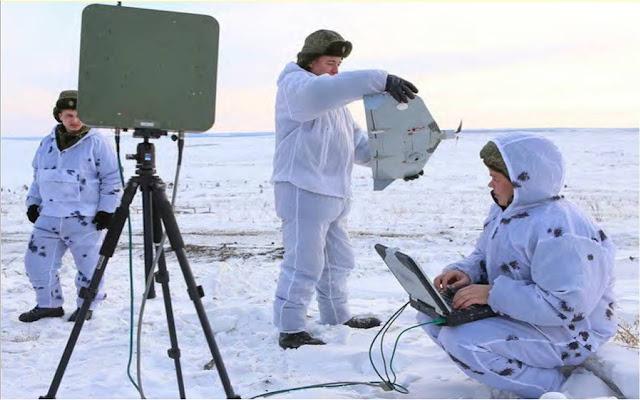 Ρώσοι στρατιώτες προετοιμάζουν ένα «Granat-1» για εκτόξευση