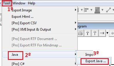 Exportar diagrama de classe para cdigo java polimorfismo ti hydra a janela que mostrada para informarmos o local para onde ser exportado o arquivo para facilitar salve na rea de trabalho ccuart Gallery