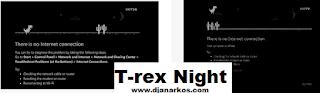 trex night run game google chrome