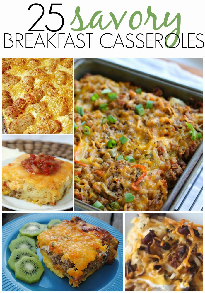 25 Savory Breakfast Casseroles