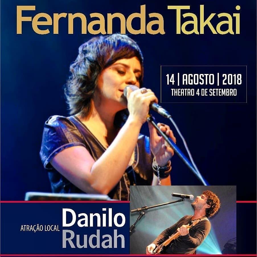 bce032a46702e Agenda Cultural de Teresina  Fernanda Takai - Theatro 4 de Setembro ...