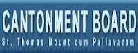 Cantonment Board Chennai, CBSTM, Tamil Nadu, LDC, Stenographer, Gangman, 10th, freejobalert, Sarkari Naukri, Latest Jobs, cantonman board logo