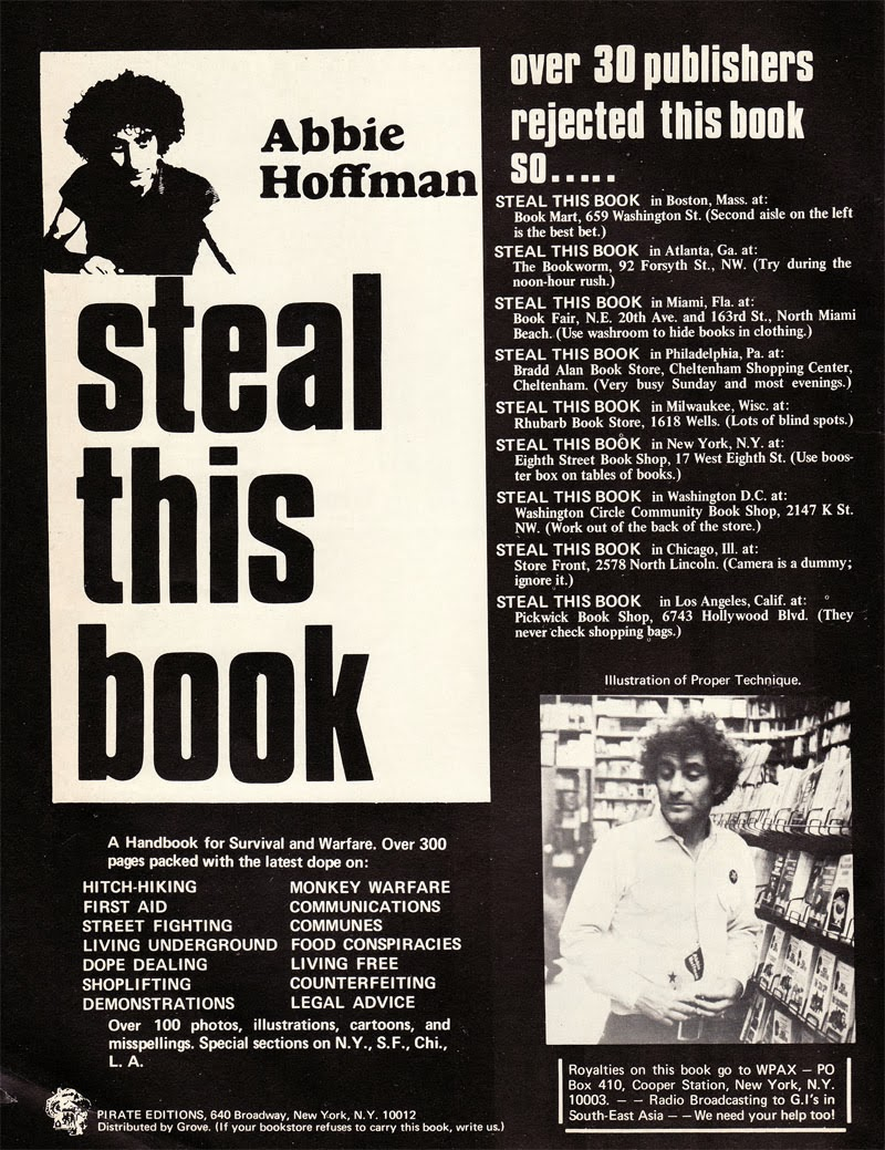 STEAL THIS BOOK By Abbie Hoffman PDF