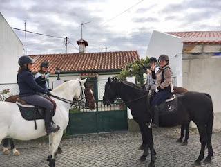 Riitta reissaa, ratsastusloma, ratsastus, Portugal, Horsexplore