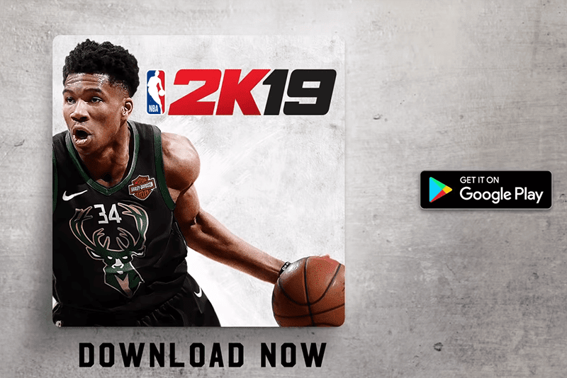 NBA 2K19 is now available on the Google Play Store
