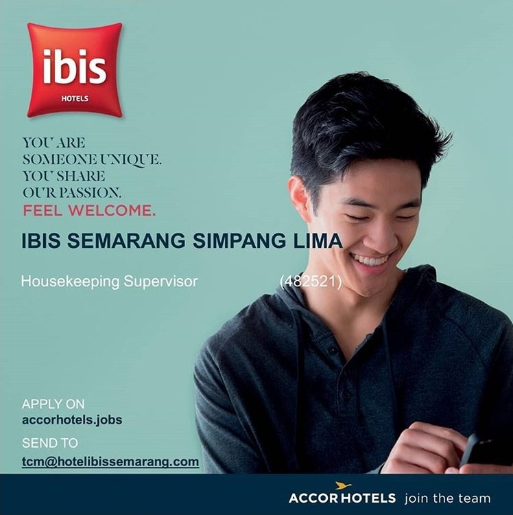 Loker Hotel Joglosemar Ibis Simpang Lima Harris Sentraland Semarang
