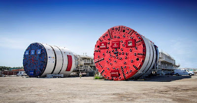Tunnel boring machines TBM