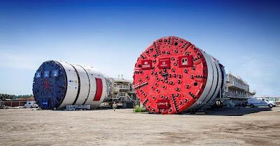 Tunnel boring machines TBM