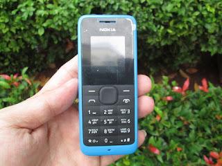 Hape Jadul Nokia 105 Seken Mulus Phonebook 500 FM Radio