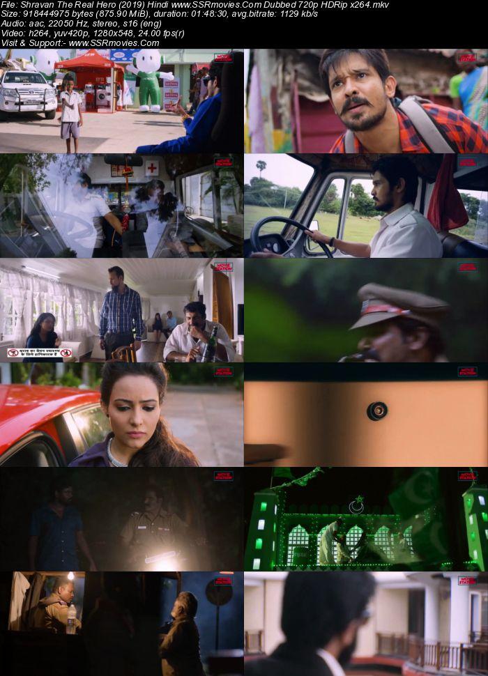 Shravan The Real Hero (2019) Hindi Dubbed 720p HDRip x264 850MB Movie Download