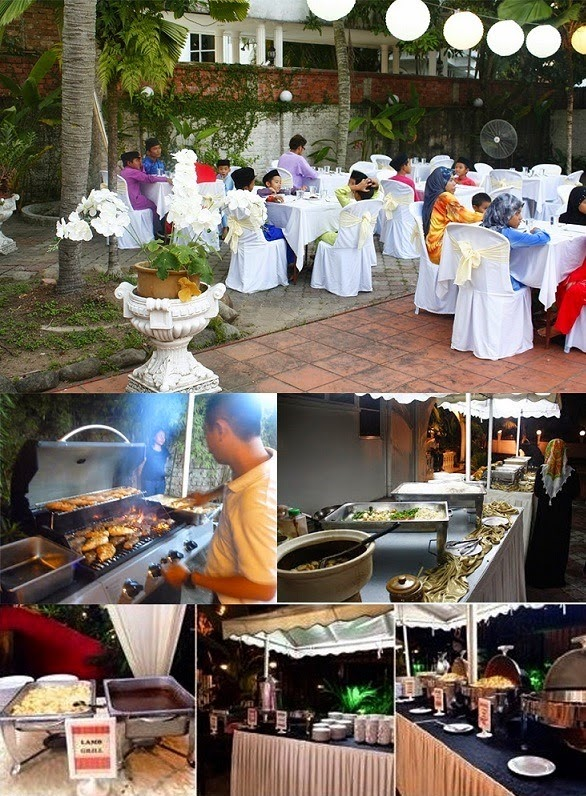 Buffet Ramadhan casa ombak, ombak creative, wedding planner, event planner, buffet murah sedap, dekorasi, photo booth, birthday planner