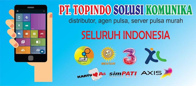 Website Distributor, Agen Pulsa Murah, Server Pulsa murah Topindo Solusi Komunika