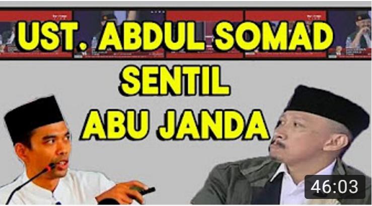 """Skakmat Abu Janda, Ustadz Abdul Somad Menyebutnya Sebagai """"Ustadz Palsu"""""""