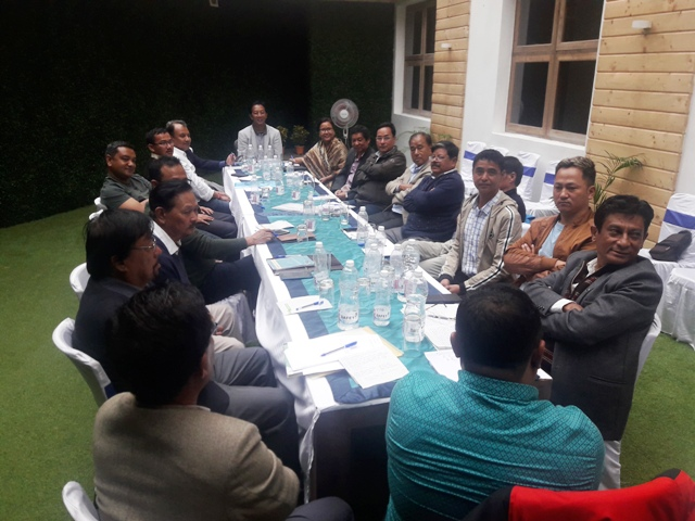 Gorkha Janmukti Morcha Central committee meeting
