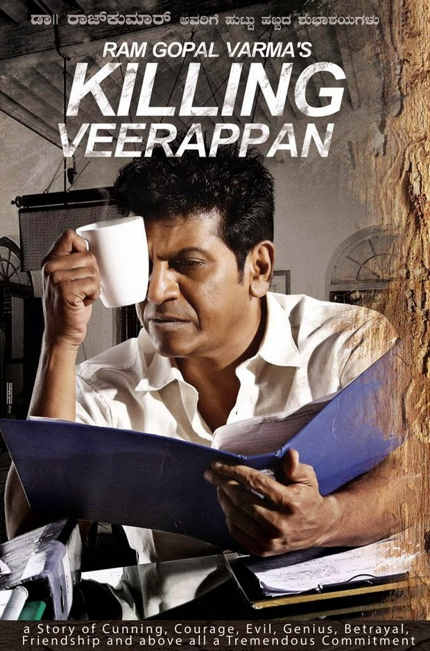 First Look: Ram Gopal Varma's 'Killing Veerappan'
