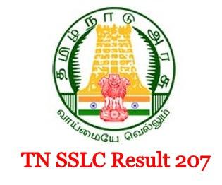 Tamilnadu (TN) SSLC (10th Class) Results 2017