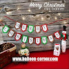 Bunting Flag Segilima MERRY CHRISTMAS (NEW DESIGN 01)