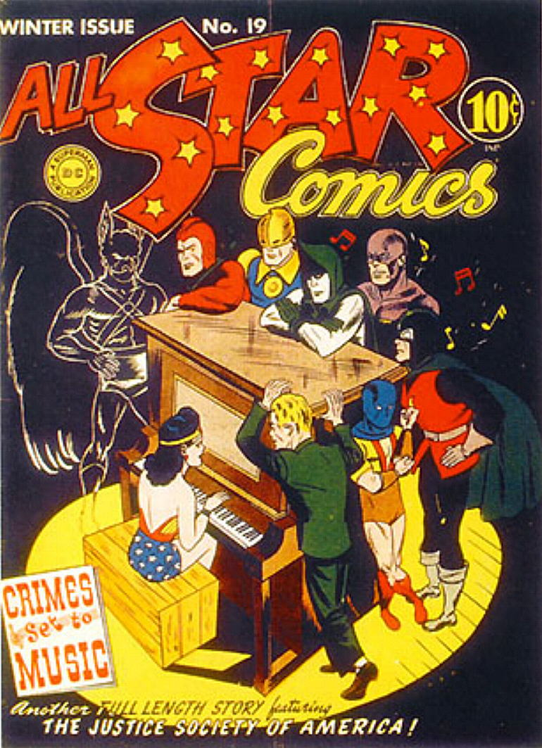 Read online All-Star Comics comic -  Issue #19 - 1
