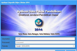 Download Aplikasi Dapodikdas,v3.0.2  tahun 2015