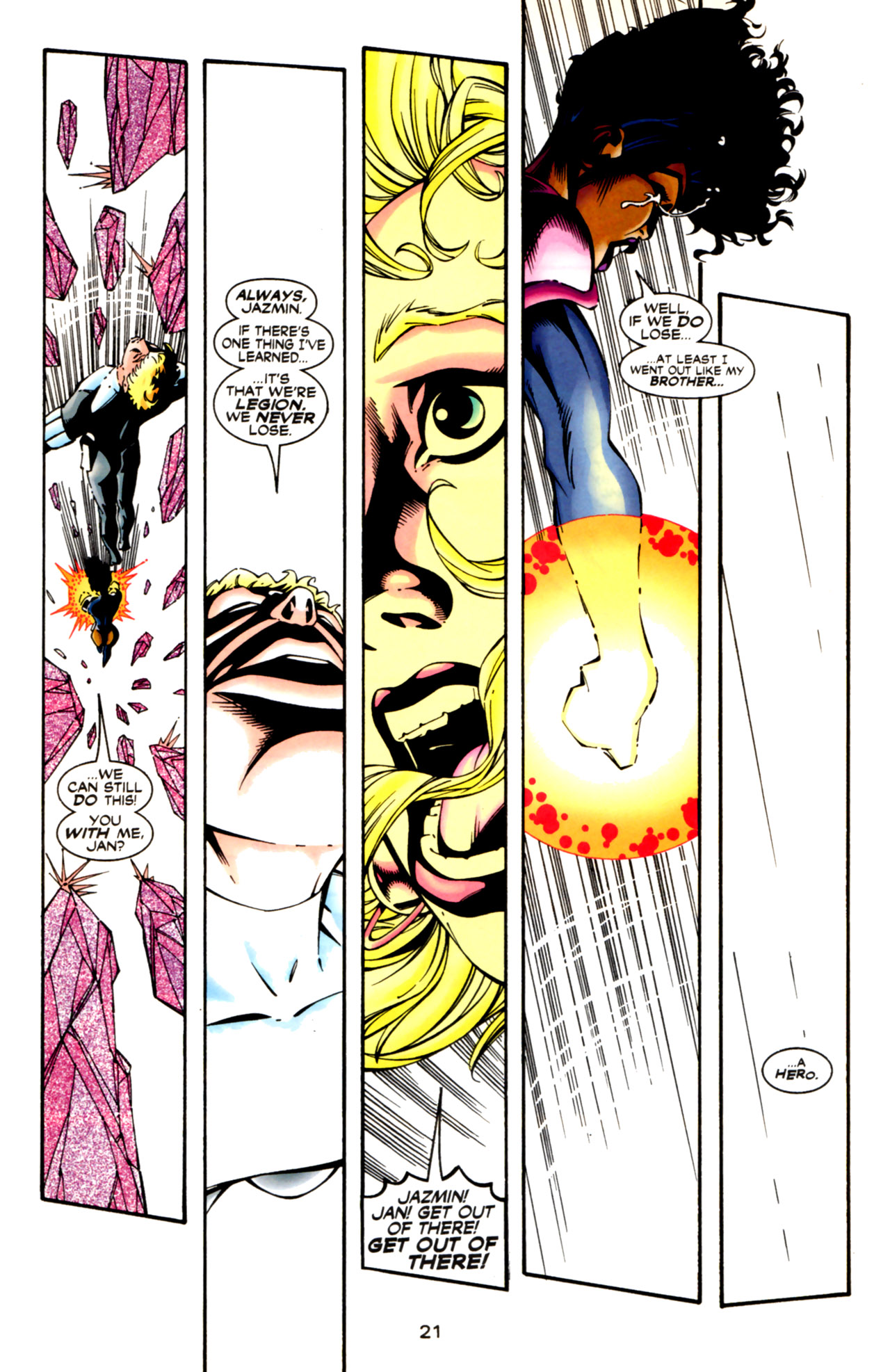 Legion of Super-Heroes (1989) 125 Page 21