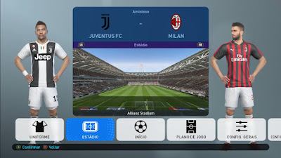 PES 2019 New Previews for Stadium Pack MjTs-140914 by Kitmaker Arthur Torres